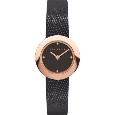 Ted Baker London Seerena Leather Strap Watch, 2m