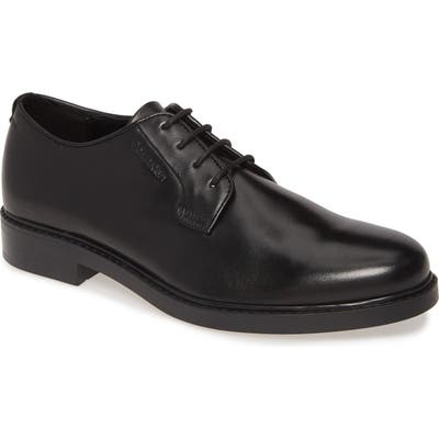 Calvin Klein Fultz Plain Toe Derby, Black