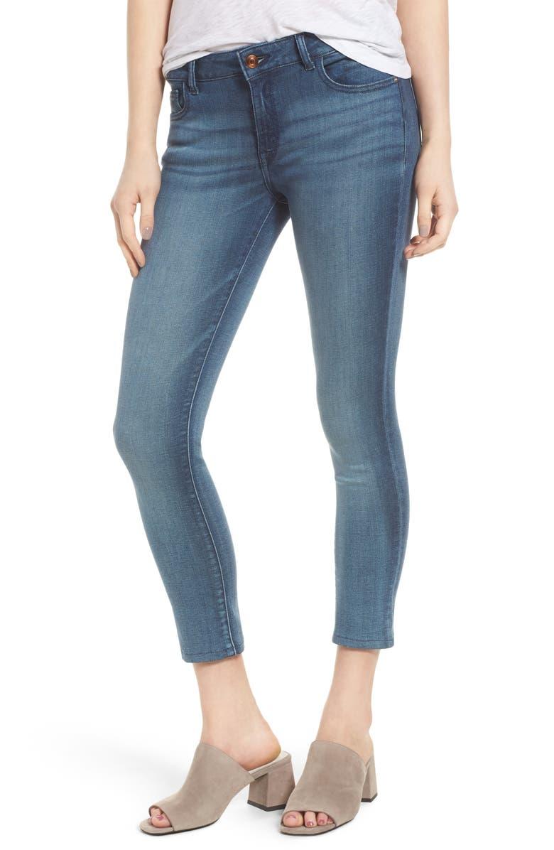 DL1961 Florence Instasculpt Crop Skinny Jeans, Main, color, 405