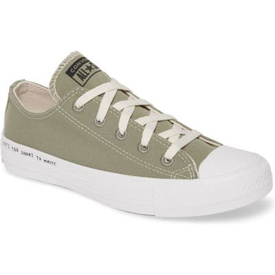 Converse Chuck Taylor All Star Renew Low Top Sneaker, Green