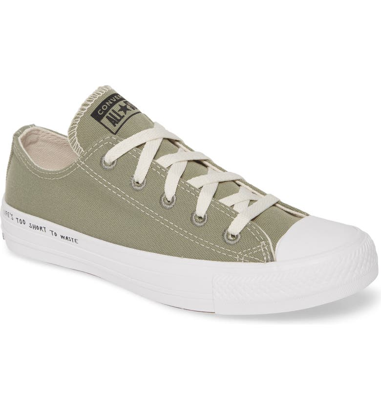 CONVERSE Chuck Taylor<sup>®</sup> All Star<sup>®</sup> Renew Low Top Sneaker, Main, color, JADE STONE/ BLACK/ WHITE