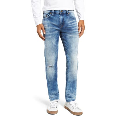 True Religion Brand Jeans Rocco Skinny Fit Jeans, Blue