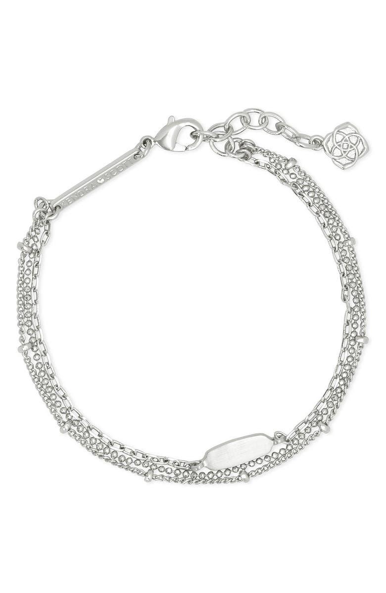 KENDRA SCOTT Fern Multi-Strand Bracelet, Main, color, 040