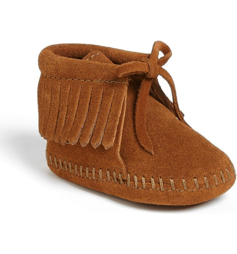 MINNETONKA Fringe Bootie, Main, color, 211