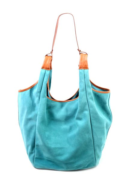 Image of Old Trend Rose Valley Leather Hobo Bag