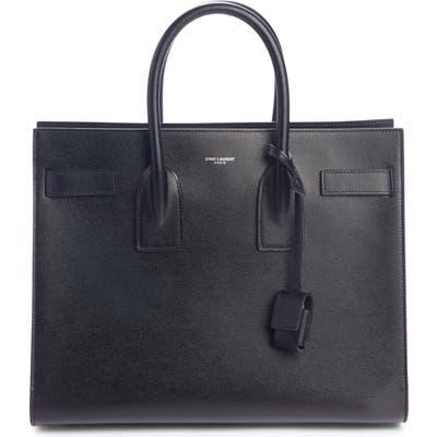 Saint Laurent Small Sac De Jour Grained Leather Tote - Black