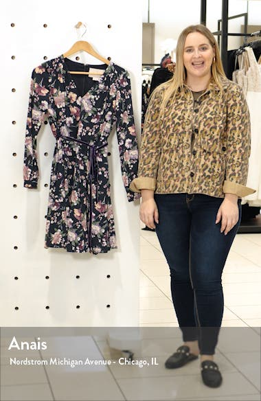 Rosalind Floral Long Sleeve Fit & Flare Dress, sales video thumbnail