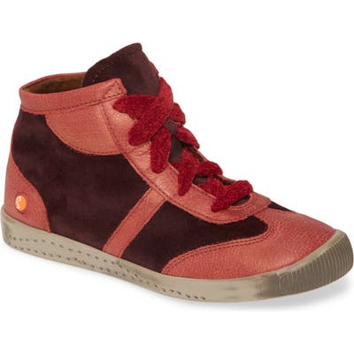 Softinos By Fly London Ikla Sneaker - Red