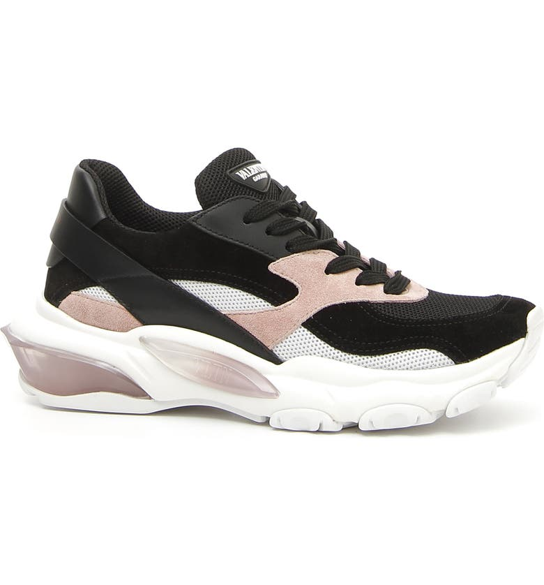 VALENTINO GARAVANI Bounce Low Top Sneaker, Main, color, 002