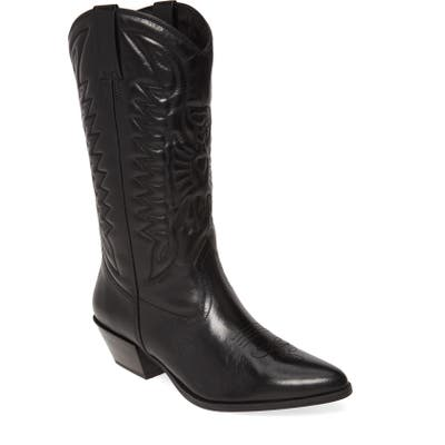 Vagabond Shoemakers Emily Western Boot, Black