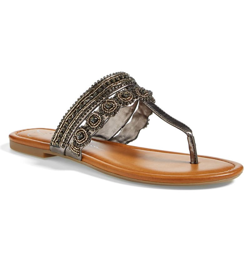 JESSICA SIMPSON 'Roelle' Embellished Sandal, Main, color, 040