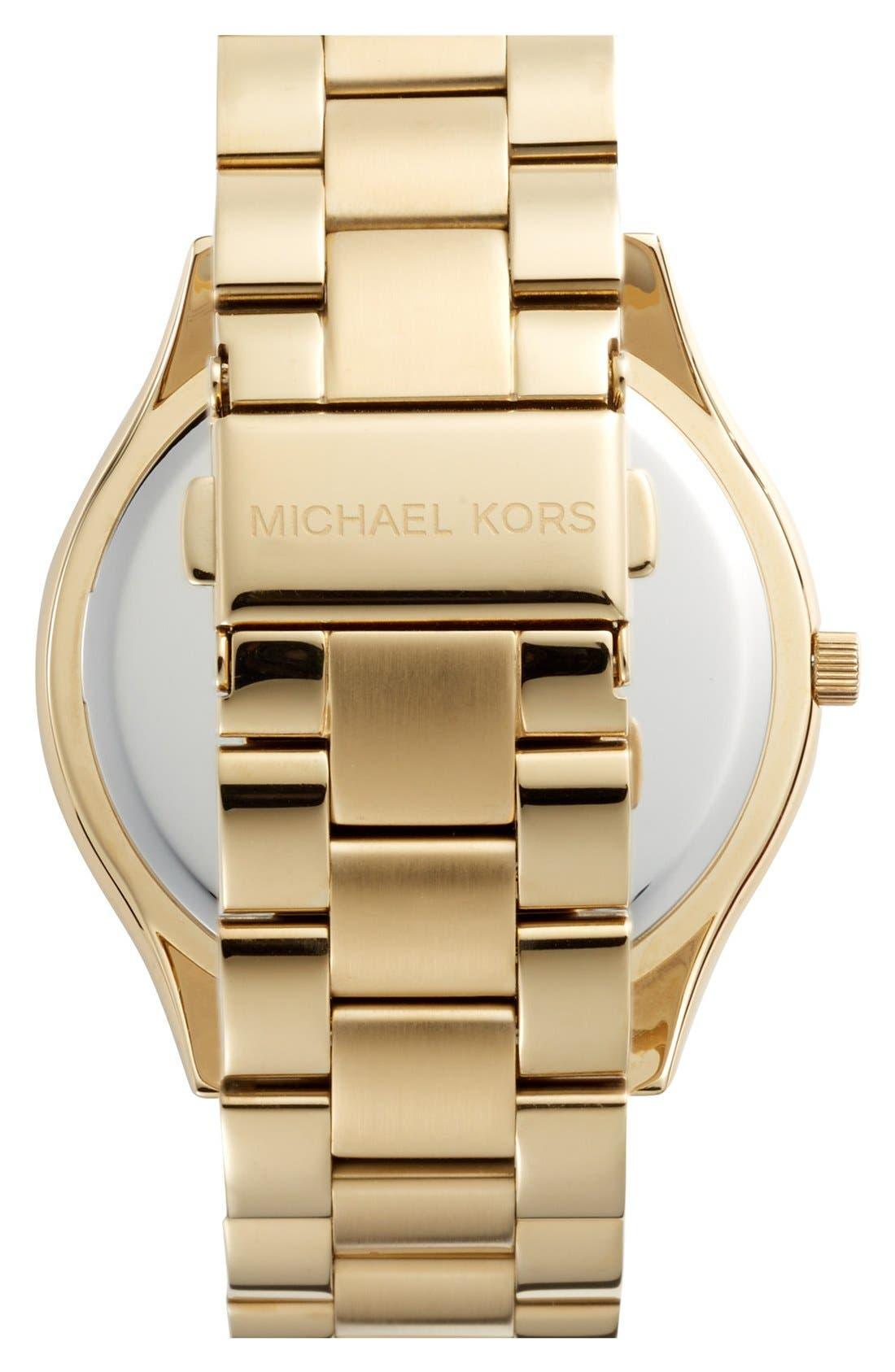 ,                             'Slim Runway' Bracelet Watch, 42mm,                             Alternate thumbnail 58, color,                             715