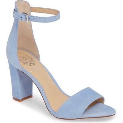 Vince Camuto Corlina Ankle Strap Sandal, Blue (Nordstrom Exclusive)