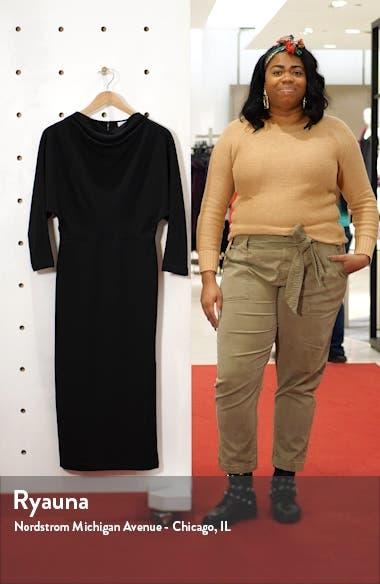 Naveen Dolman Long Sleeve Midi Dress, sales video thumbnail