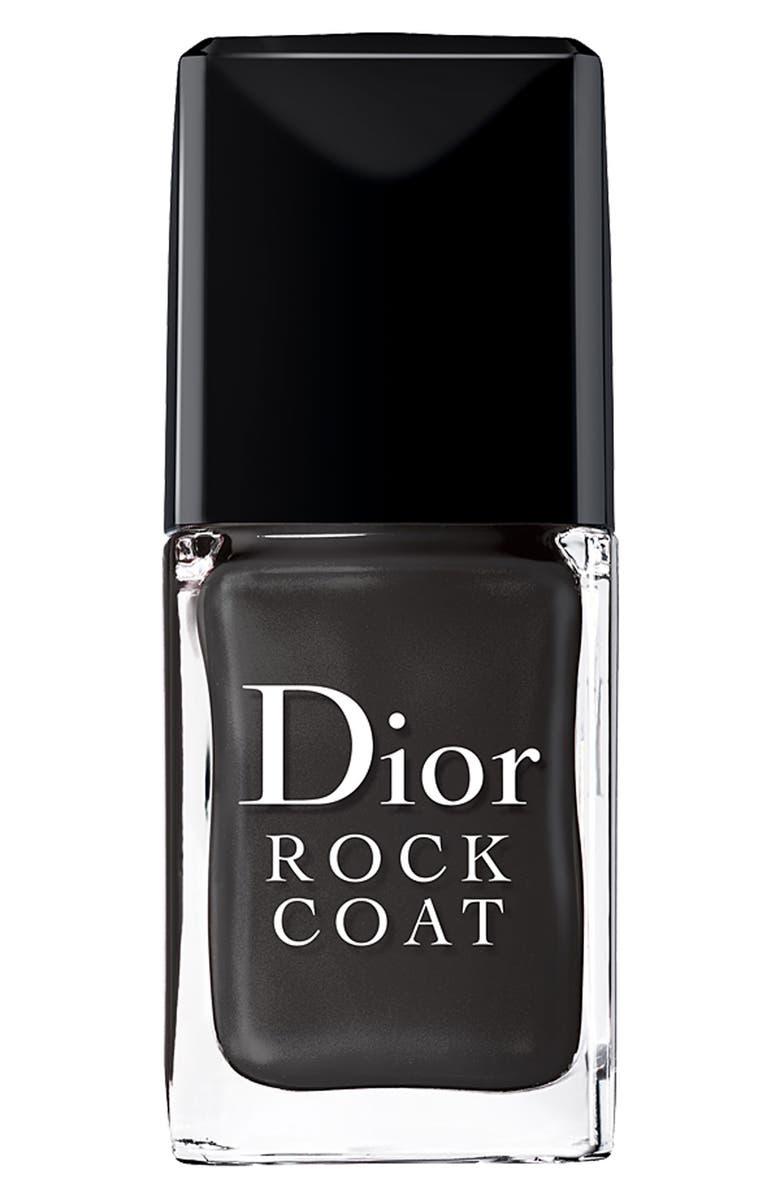 DIOR 'Rock Coat' Topcoat, Main, color, 000