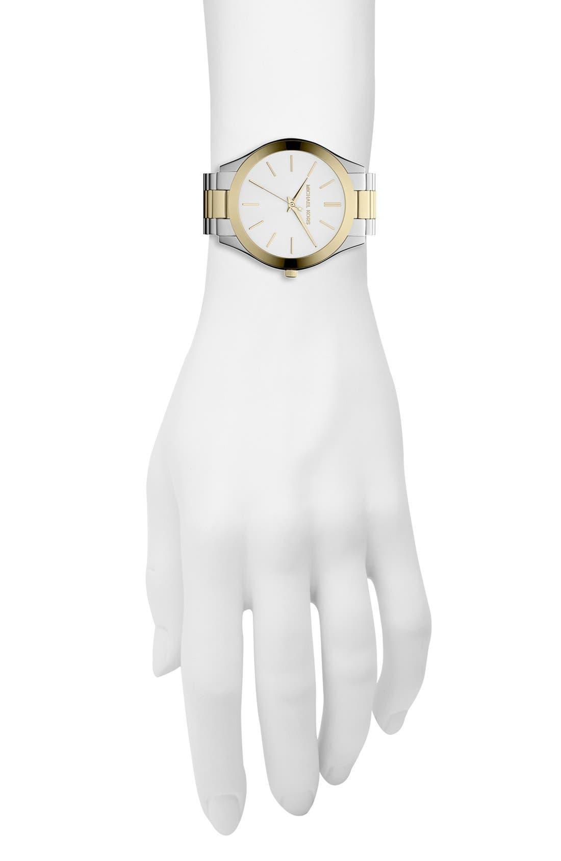 ,                             'Slim Runway' Bracelet Watch, 42mm,                             Alternate thumbnail 51, color,                             713