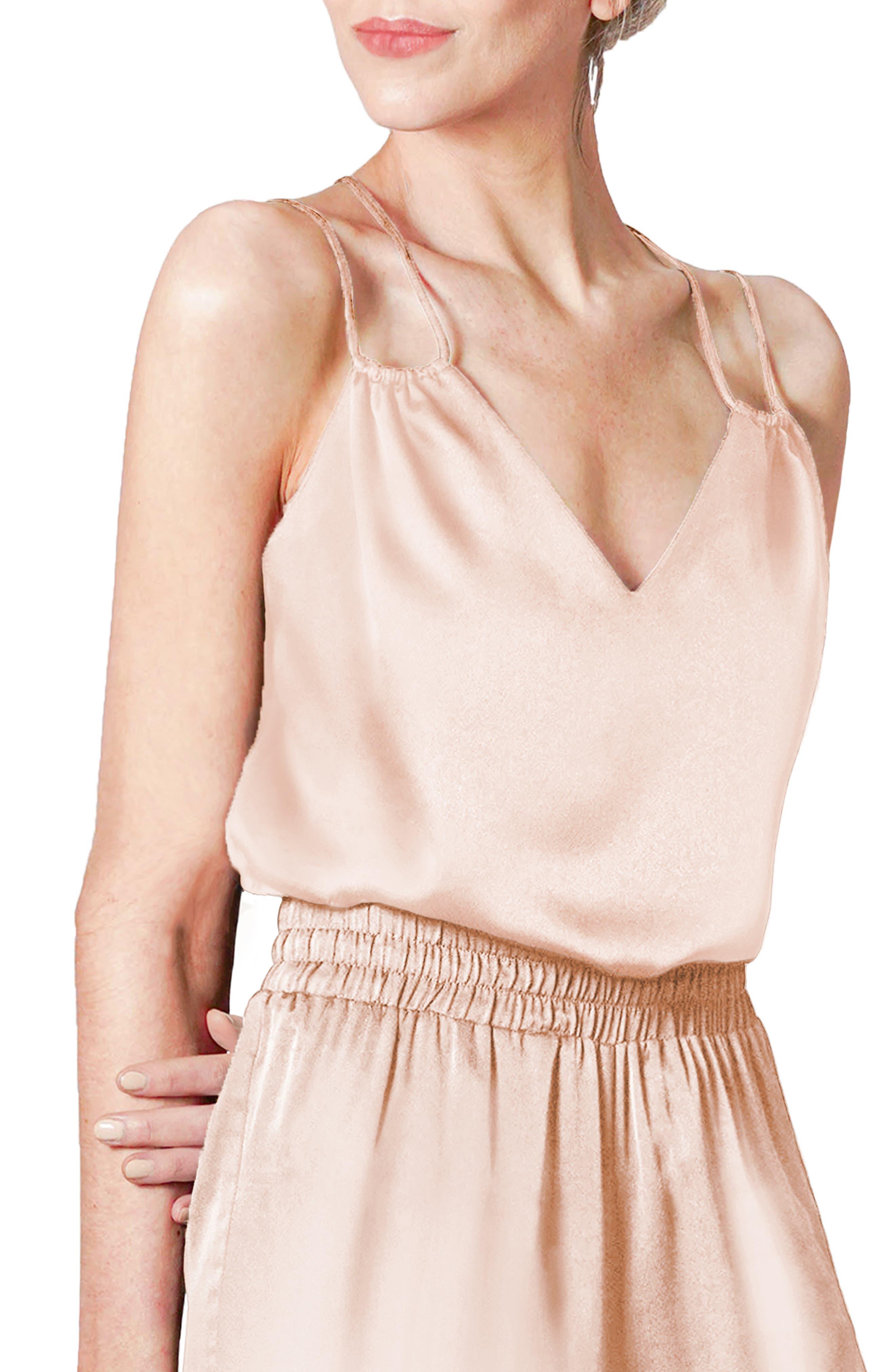 Women's Light Codes Double Strap Camisole