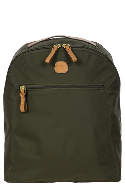 Bric's X-travel City Backpack In Green
