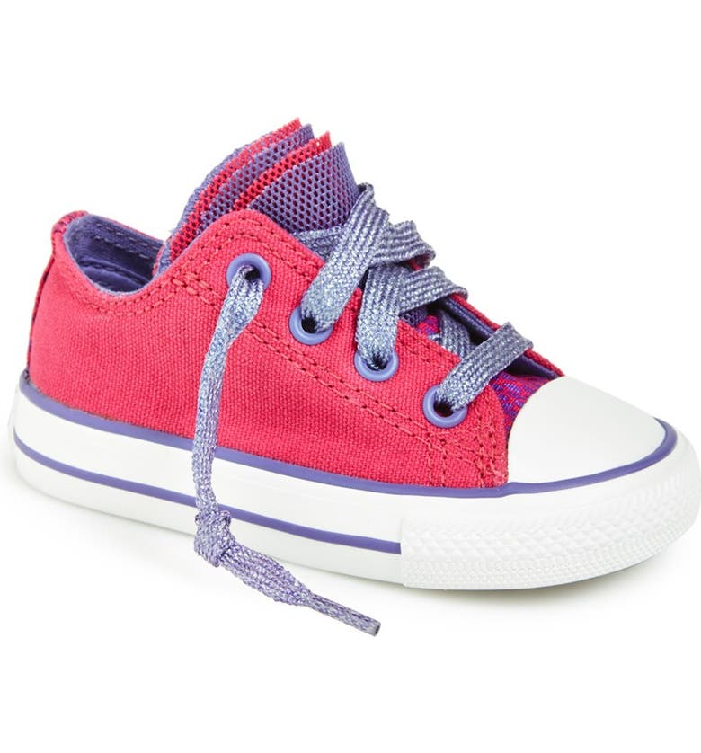 CONVERSE Chuck Taylor<sup>®</sup> All Star<sup>®</sup> 'Party' Reptile Print Low Top Sneaker, Main, color, 650