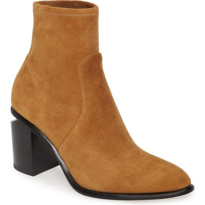 Alexander Wang Anna Stretch Bootie, Yellow