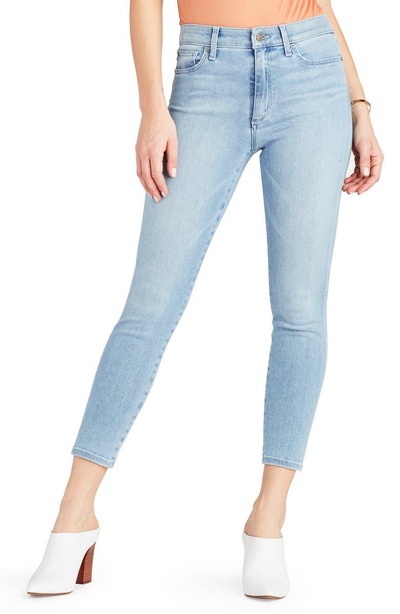 JOE'S Flawless - Charlie High Waist Ankle Skinny Jeans, Main, color, CHLOE