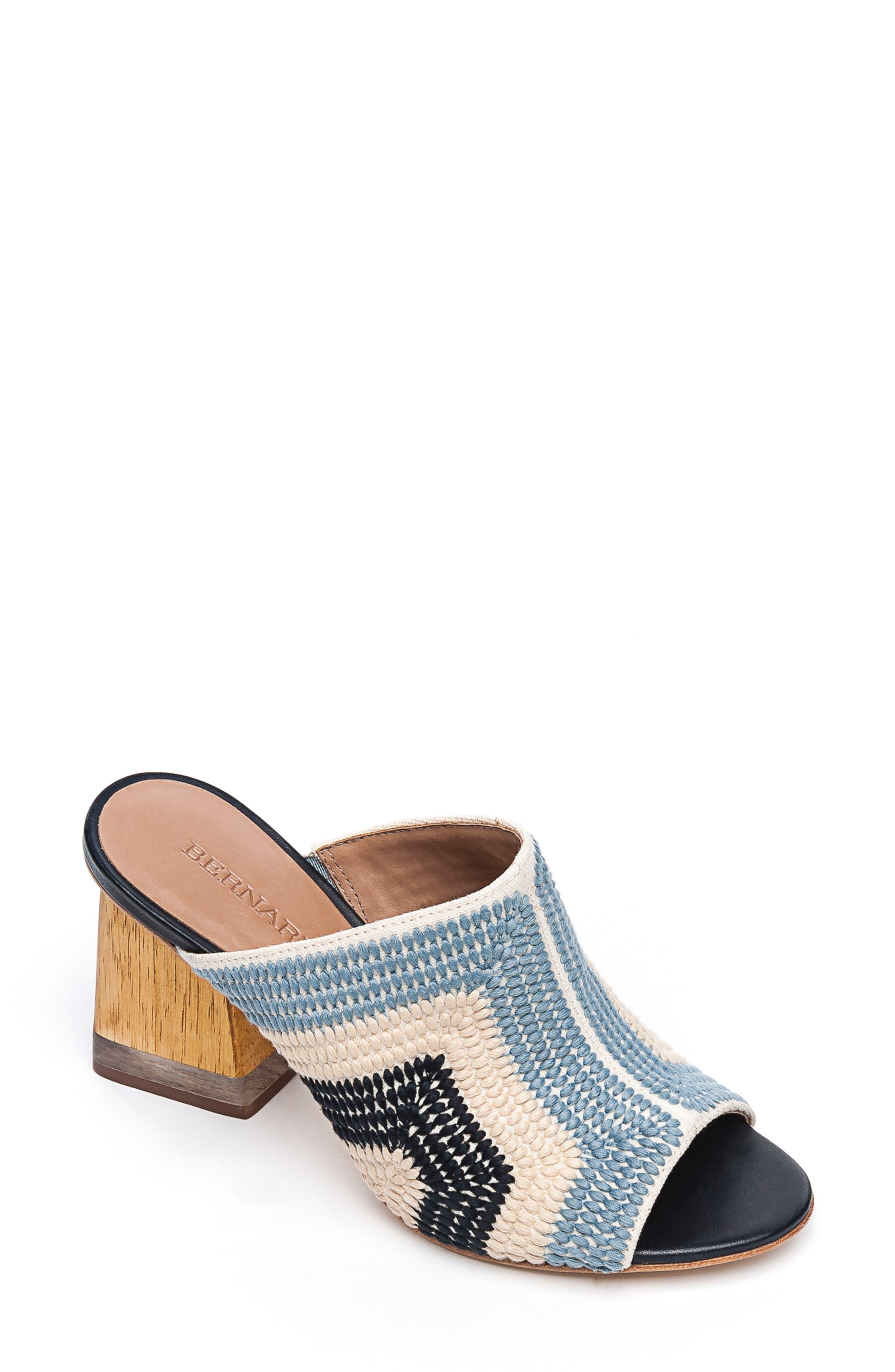 Bernardo Noelle Slide Sandal, Blue