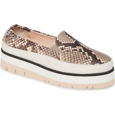 Agl Platform Slip-On Sneaker - Grey