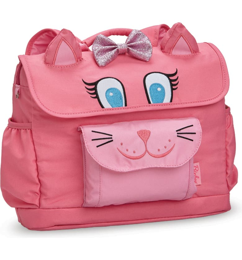 BIXBEE Animal Pack-Kitty Water Resistant Backpack, Main, color, PINK