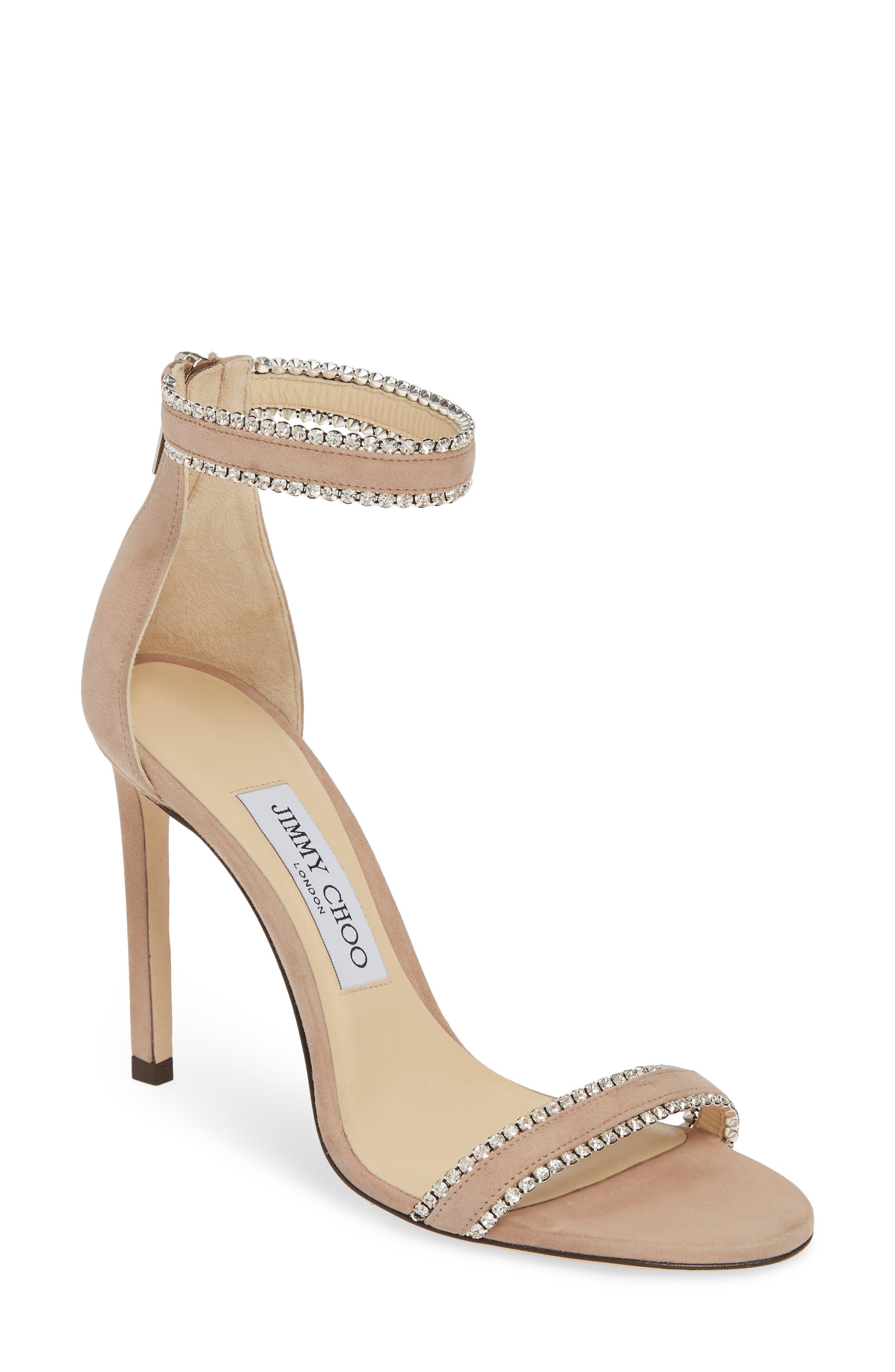 Jimmy Choo Dochas Jewel Strap Sandal (Women)