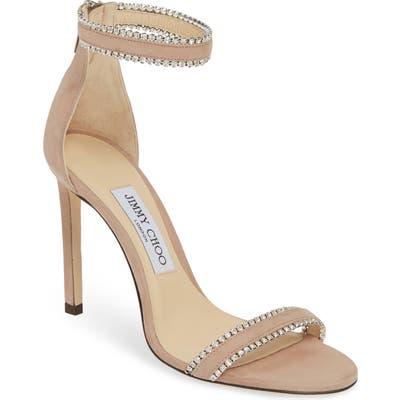 Jimmy Choo Dochas Jewel Strap Sandal - Pink