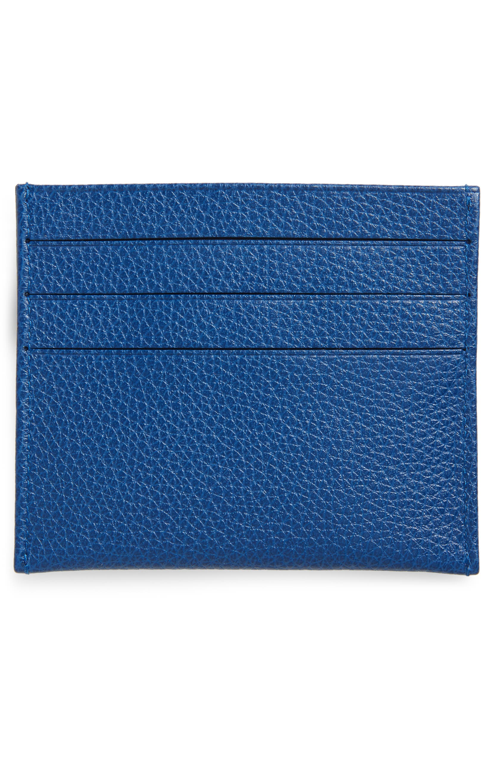 72fa28c0246 Longchamp 'Le Foulonne' Pebbled Leather Card Holder | Nordstrom