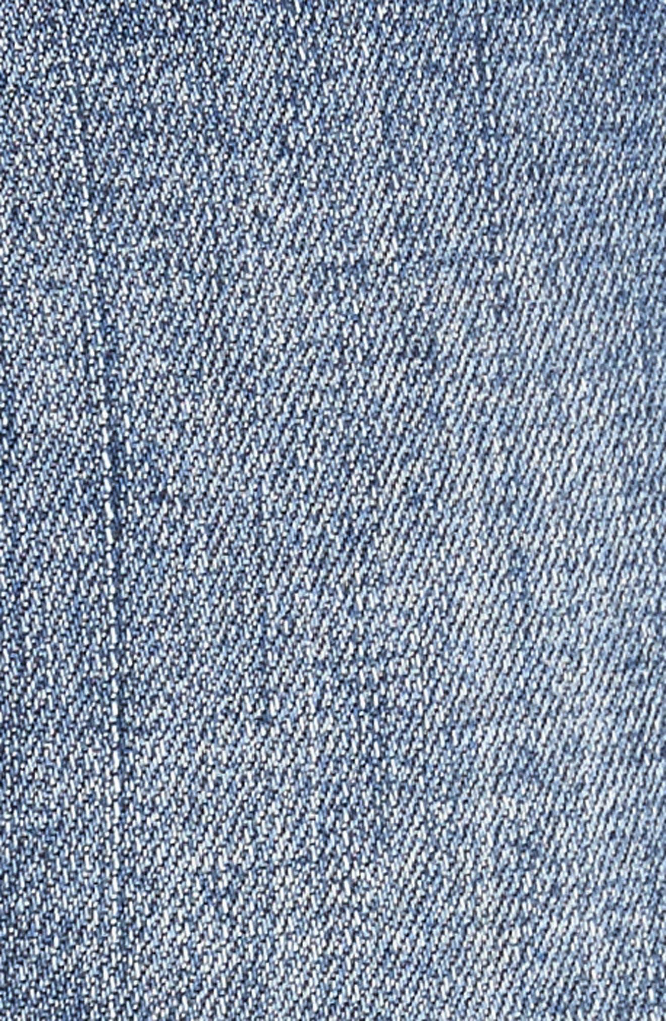 ,                             Gidget Denim Shorts,                             Alternate thumbnail 6, color,                             CONSOLIDATED