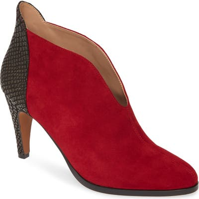 Linea Paolo Nia Bootie- Red