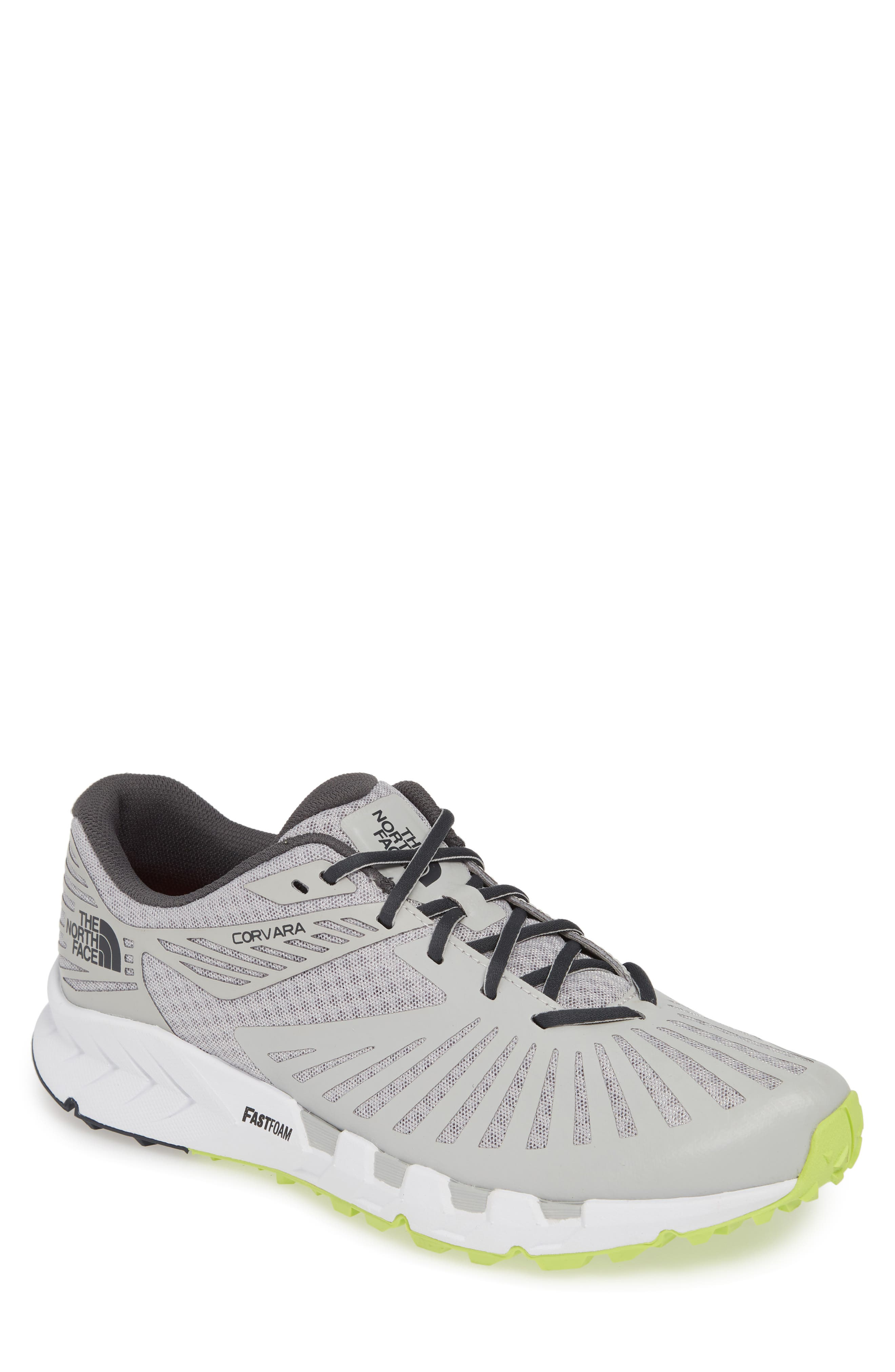 The North Face Corvara Trail Running Sneaker, Grey