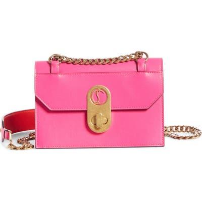 Christian Louboutin Mini Elisa Calfskin Leather Shoulder Bag - Pink