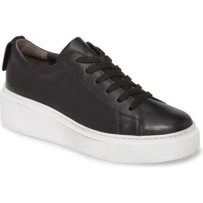 Paul Green Debbie Wedge Sneaker, US / 6.5UK - Black