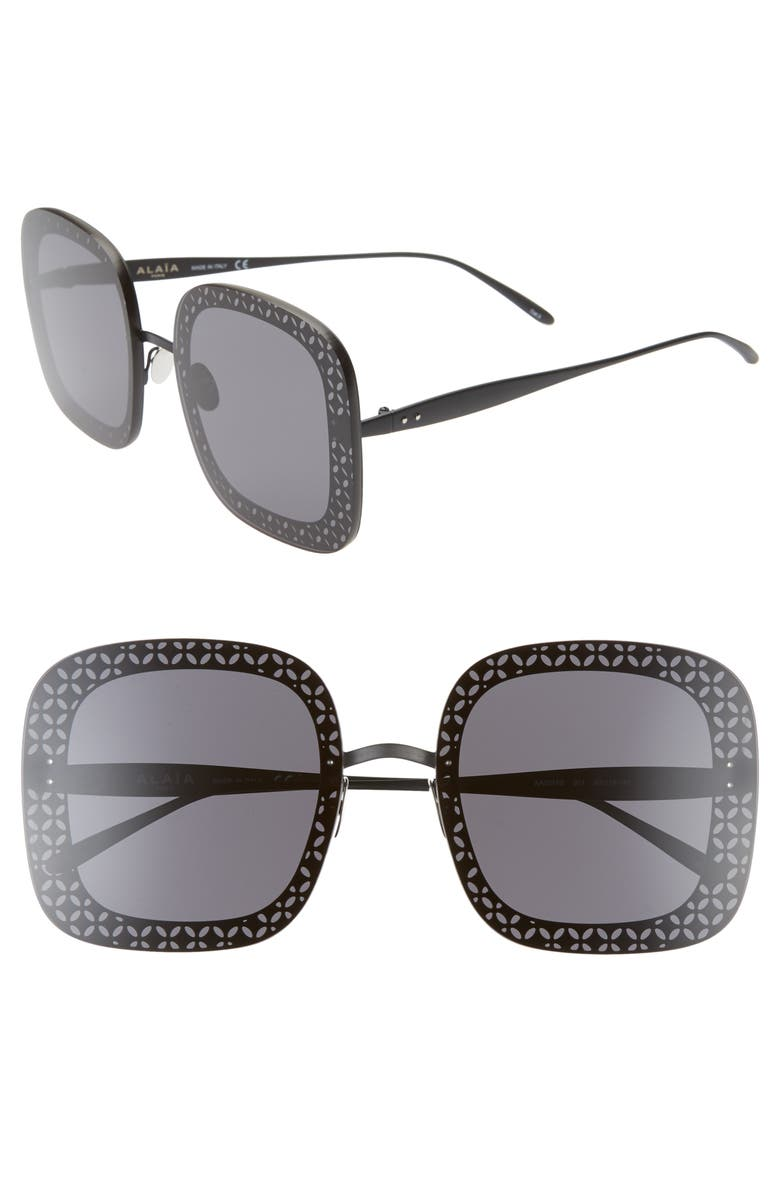 Ala A 63mm Oversize Square Sunglasses