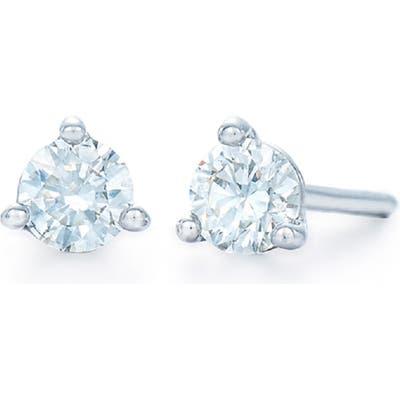 Kwiat 0.33Ct Tw Diamond & Platinum Stud Earrings