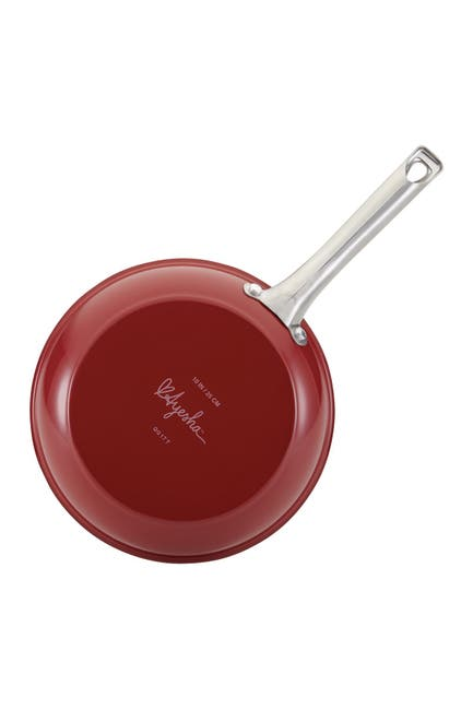"Image of AYESHA Curry Home Collection Aluminum 11.5"" Skillet - Sienna Red"
