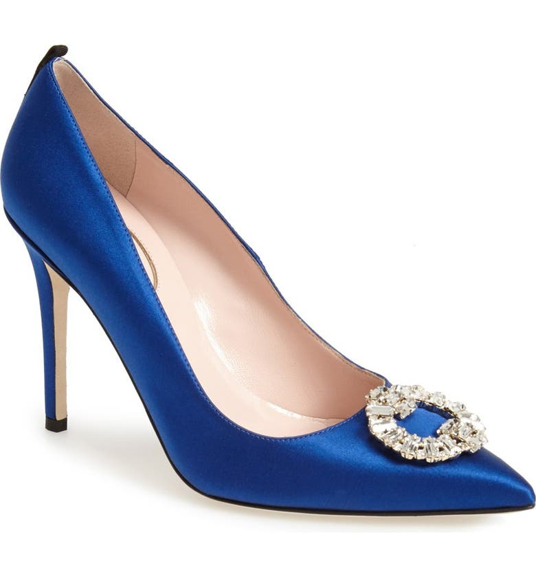 SJP BY SARAH JESSICA PARKER 'Maddalena' Pointy Toe Pump, Main, color, 400