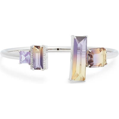 Kate Spade New York Crystal Flex Cuff Bracelet