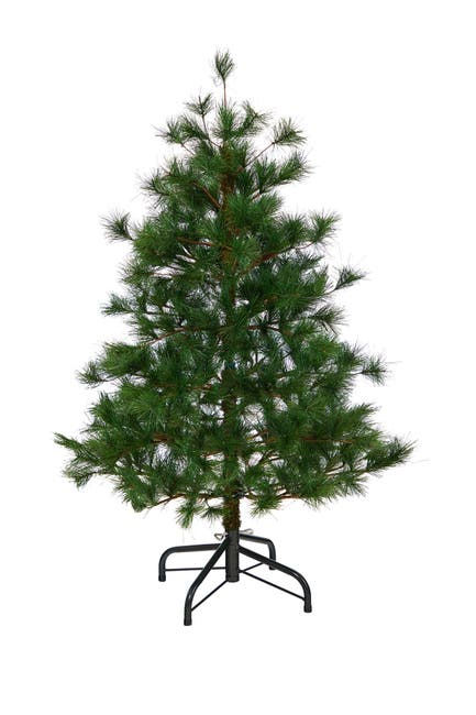 Image of NEARLY NATURAL 4ft. Yukon Mixed Pine Artificial Christmas Tree