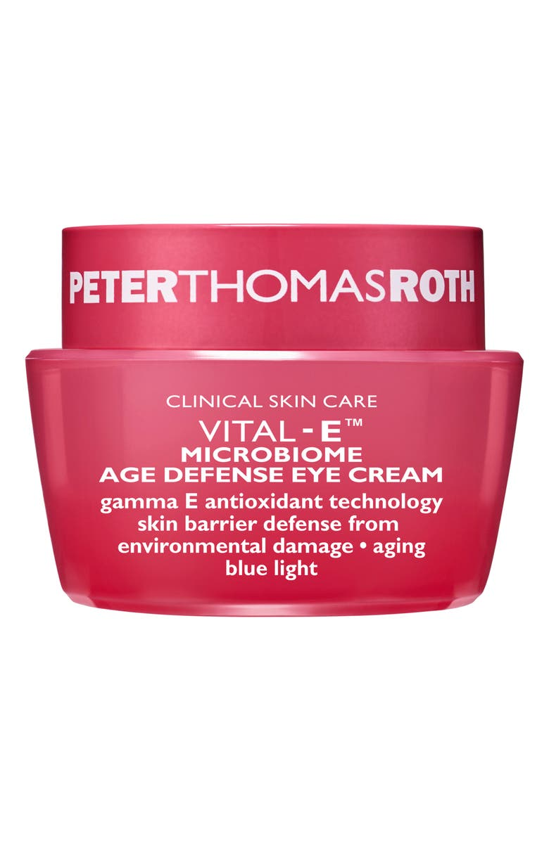 PETER THOMAS ROTH Vital-E<sup>™</sup> Microbiome Age Defense Eye Cream, Main, color, NO COLOR