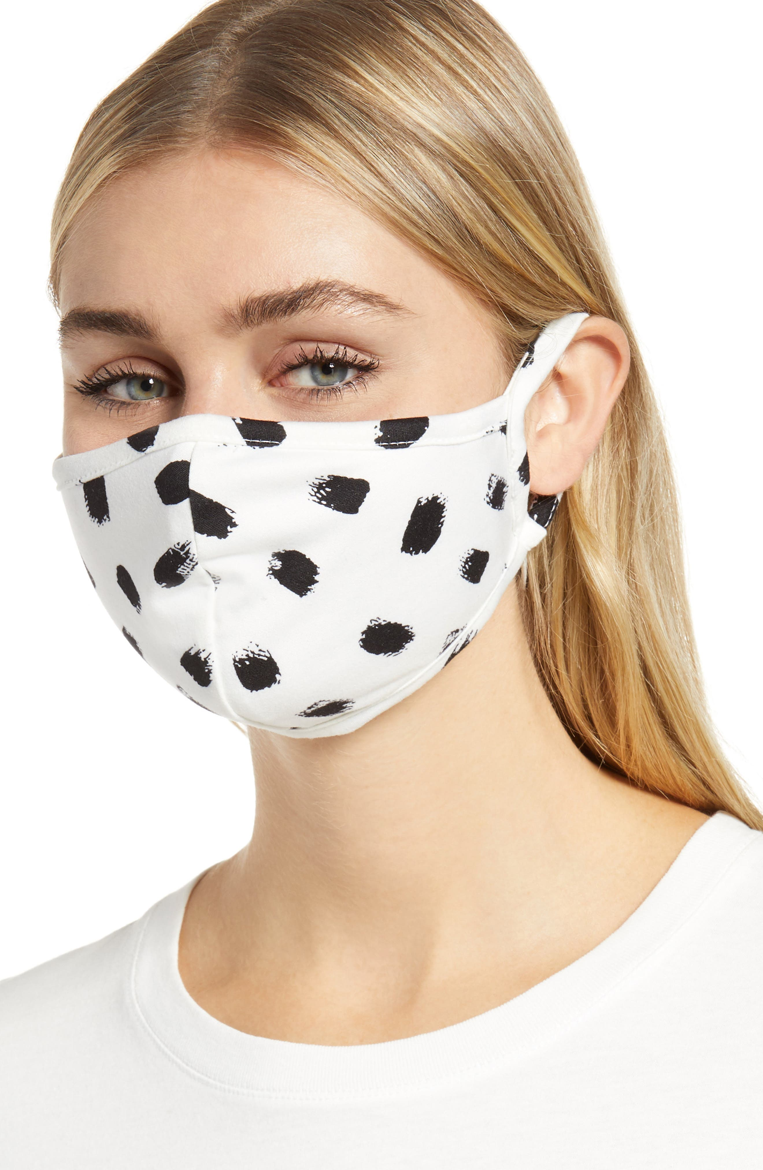 Image of Nordstrom Assorted Non-Medical Adult Face Masks - Pack of 4
