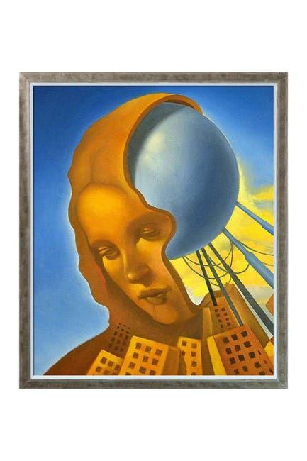 "Image of Overstock Art Leonardo Bioconstruction with Champagne Silhouette Frame - 22.4"" x 26.4"""