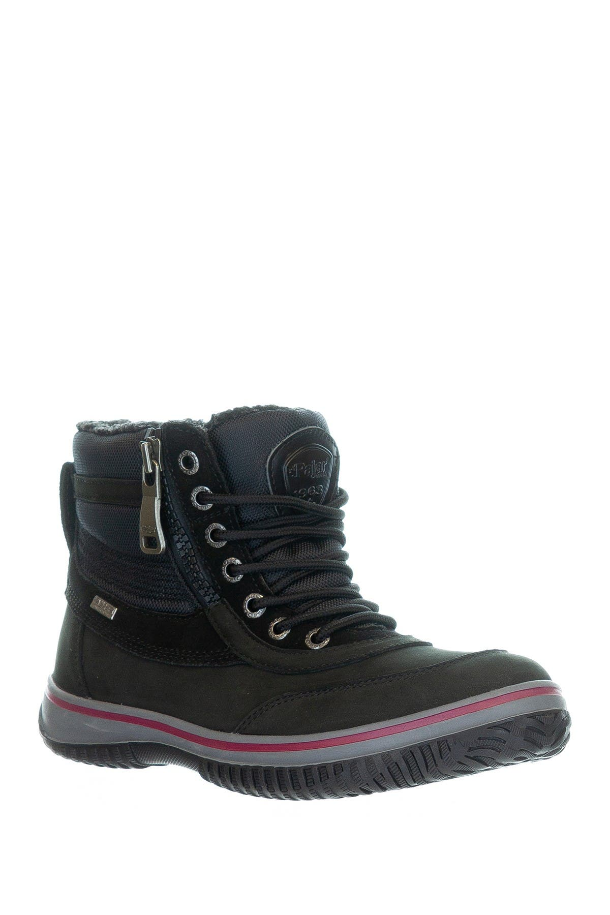 Image of Pajar Gearson Faux Shearling Lined Waterproof Lace-Up Boot