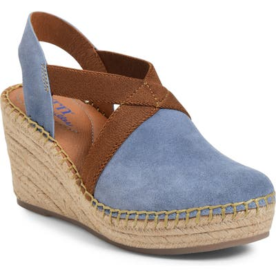 B?rn Meade Slip-On Wedge, Blue