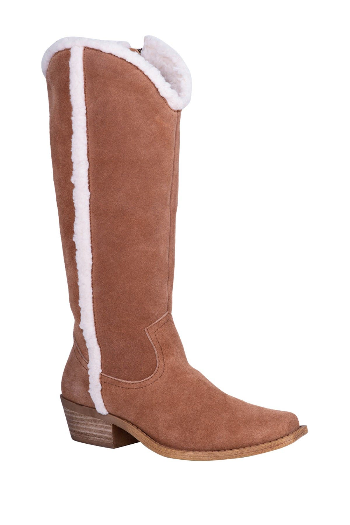 Image of DINGO Jango Faux Shearling Lined Tall Boot