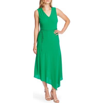 Vince Camuto Asymmetrical Midi Dress, Green