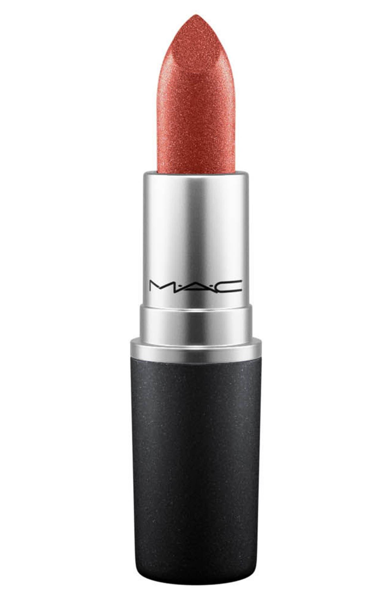 ,                             MAC Strip Down Nude Lipstick,                             Main thumbnail 584, color,                             637